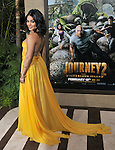 Vanessa Hudgens arriving to the premiere of Journey 2 The Mysterious Island, held at Chinese Theater in  Los Angeles, CA  February 2, 2012.