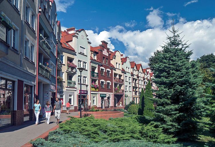 Ostróda centrum miasta
