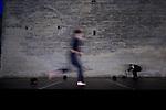 TITRE....Conception et interprétation : ..Lumière : ..Dramaturgie : Thibaud Croisy..Compagnie : ..Le 20/06/2012..Cadre : Festival Uzes Danse 2012..Lieu : ..Ville : Uzès..© Laurent Paillier / photosdedanse.com..All rights reserved