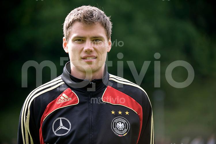 Fussball    International     Nationalmannschaft   U 21 Deutschland        05.06.2009  Sebastian BOENISCH (GER), Portrait.