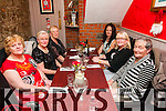 Staff from The Irish Wheelchair shop, Listowel enjoying their CHristmas party at Mai Fitz's Restaurant, Listowel on Thursday night last. L- R : Marian Loughnane, Angela Norgrove, Florence Guyatt, Mary Brosnan, Mamie Stack & Jilda O'Donnell.