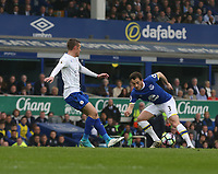 Everton's Leighton Baines<br /> <br /> Photographer Stephen White/CameraSport<br /> <br /> The Premier League - Everton v Leicester City - Sunday April 9th 2017 - Goodison Park - Liverpool<br /> <br /> World Copyright &copy; 2017 CameraSport. All rights reserved. 43 Linden Ave. Countesthorpe. Leicester. England. LE8 5PG - Tel: +44 (0) 116 277 4147 - admin@camerasport.com - www.camerasport.com