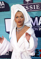 www.acepixs.com<br /> <br /> November 12 2017, London<br /> <br /> Rita Ora arriving at the 2017 MTV Europe Music Awards at the SSE Arena on November 12 2017 in Wembley, London.<br /> <br /> By Line: Famous/ACE Pictures<br /> <br /> <br /> ACE Pictures Inc<br /> Tel: 6467670430<br /> Email: info@acepixs.com<br /> www.acepixs.com