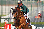 25.09.2015 Barcelon CSIO Barcelona . Picture show Shane Breen (IRL) ridding Acoustik Solo du Baloubet during EL Peridodico Trophy at Real Club de Polo de Barcelona