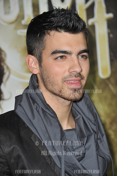"Joe Jonas at the Los Angeles premiere of ""Sucker Punch"" at Grauman's Chinese Theatre, Hollywood..March 23, 2011  Los Angeles, CA.Picture: Paul Smith / Featureflash"