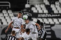 Rio de Janeiro (RJ), 01/08/2020 - Botafogo-Fluminense - Nino  (c), do Fluminense. Partida amistosa entre Botafogo e Fluminense, realizada no Estádio Nilton Santos (Engenhão), na zona norte do Rio de Janeiro,  neste sábado (01).