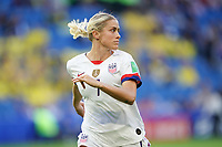 LE HAVRE, FRANCE - JUNE 20: Abby Dahlkemper #7 during a 2019 FIFA Women's World Cup France group F match between the United States and Sweden at Stade Océane on June 20, 2019 in Le Havre, France.