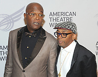 NEW YORK, NY - September26: Samuel L. Jackson and Spike Lee attend American Theater Wing Honoring Cicely Tyson at 2016 Gala at the Plaza Hotel  on September 26, 2016 in New York City .  Photo Credit:John Palmer/MediaPunch