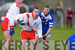 An Ghaeltacht's no.3 and Annascaul's no.14..   Copyright Kerry's Eye 2008