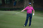 Miguel Angel Jimenez from Spain hits the ball during Hong Kong Open golf tournament at the Fanling golf course on 22 October 2015 in Hong Kong, China. Photo by Xaume Olleros / Power Sport Images