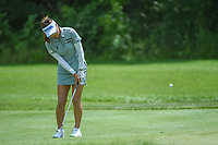 Lydia Ko (NZL) chips on to 10 during round 1 of the 2018 KPMG Women's PGA Championship, Kemper Lakes Golf Club, at Kildeer, Illinois, USA. 6/28/2018.<br /> Picture: Golffile | Ken Murray<br /> <br /> All photo usage must carry mandatory copyright credit (&copy; Golffile | Ken Murray)