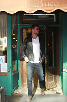 NEW YORK, NY - OCTOBER 30: Chris Hemsworth at Il Buco having lunch during while on promotion of his new movie Thor: Ragnarok in New York City on October 30, 2017. Credit: RW/MediaPunch