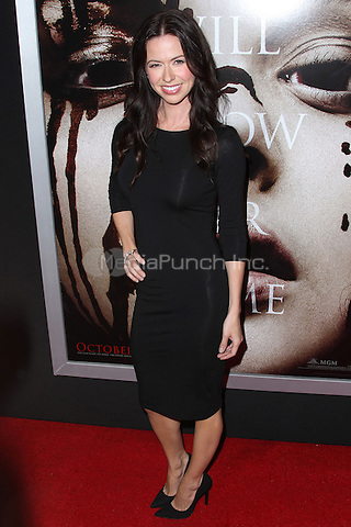 """HOLLYWOOD, CA - OCTOBER 07: Joy Williams arrives at the """"Carrie"""" Los Angeles Premiere held at ArcLight Hollywood on October 7, 2013 in Hollywood, California. Credit: Collin/RTN/MediaPunch Inc."""