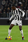 9th December 2017, Allianz Stadium, Turin, Italy; Serie A football, Juventus versus Inter Milan; Blaise Matuidi on the ball
