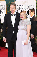 BEVERLY HILLS, CA - JANUARY 13: Dax Shepard and Kristen Bell at the 70th Annual Golden Globe Awards at the Beverly Hills Hilton Hotel in Beverly Hills, California. January 13, 2013. Credit MediaPunch Inc. /NortePhoto