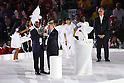 (L-R) Kipchoge Keino, Thomas Bach, Carlos Arthur Nuzman, <br /> AUGUST 5, 2016 : <br /> Opening Ceremony <br /> at Maracana <br /> during the Rio 2016 Olympic Games in Rio de Janeiro, Brazil. <br /> (Photo by Yohei Osada/AFLO SPORT)