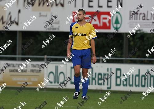 2009-09-19 / Voetbal / seizoen 2009-2010 / KFC De Kempen - VC Wijnegem / Bart Vergeylen..Foto: Maarten Straetemans (SMB)