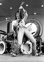 Jeff Beck performing in 1973.  Credit: Ian Dickson/MediaPunch