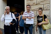 Roma, 2 agosto 2018<br /> Flash mob della Lega a sostegno delle politiche del ministro dell'interno Matteo Salvini