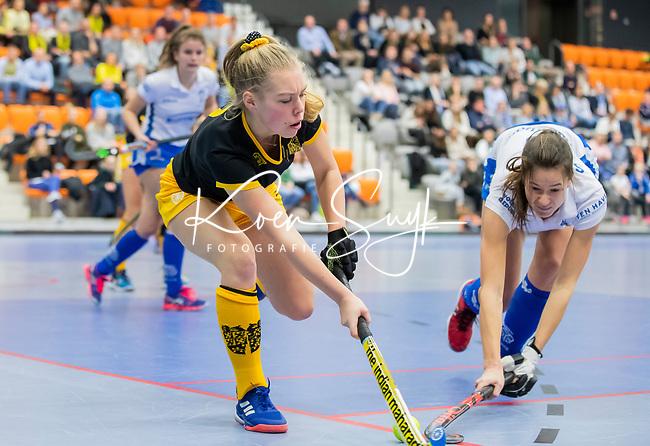ROTTERDAM  - NK Zaalhockey .Kampong D1-Den Bosch D1 dames voor brons. .    COPYRIGHT KOEN SUYK