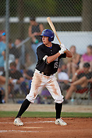 Trent Lewis (15) during the WWBA World Championship at the Roger Dean Complex on October 10, 2019 in Jupiter, Florida.  Trent Lewis attends Avon Park High School in Sebring, FL and is committed to Appalachian State.  (Mike Janes/Four Seam Images)