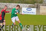 St Brendan's Park's Graham O'Leary and Castleisland's Sean Og Kerwin.
