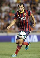 FC Barcelona's Javier Mascherano during La Liga match.September 1,2013. (ALTERPHOTOS/Acero) <br /> Football Calcio 2013/2014<br /> La Liga Spagna<br /> Foto Alterphotos / Insidefoto <br /> ITALY ONLY