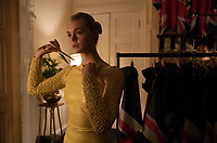 How to Talk to Girls at Parties (2017) <br /> Elle Fanning<br /> *Filmstill - Editorial Use Only*<br /> CAP/MFS<br /> Image supplied by Capital Pictures