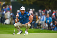 Graeme McDowell (NIR) looks over his putt on 3 during round 4 of the 2019 US Open, Pebble Beach Golf Links, Monterrey, California, USA. 6/16/2019.<br /> Picture: Golffile | Ken Murray<br /> <br /> All photo usage must carry mandatory copyright credit (© Golffile | Ken Murray)