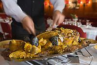 """Europe/France/Provence-Alpes-Côte d'Azur/13/Bouches-du-Rhône/Marseille: Restaurant """"Miramar"""" 12 quai du Port Service de la Bouillabaisse"""