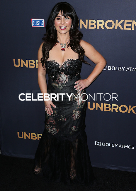 HOLLYWOOD, LOS ANGELES, CA, USA - DECEMBER 15: Maddalena Ischiale arrives at the Los Angeles Premiere Of Universal Pictures' 'Unbroken' held at the Dolby Theatre on December 15, 2014 in Hollywood, Los Angeles, California, United States. (Photo by Xavier Collin/Celebrity Monitor)