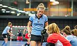 ROTTERDAM  - NK Nacompetitie Zaalhockey .   HGC-MOP dames,  Femke Beijen van HGC. COPYRIGHT KOEN SUYK