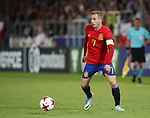 Spain's Gerard Deulofeu in action during the UEFA Under 21 Final at the Stadion Cracovia in Krakow. Picture date 30th June 2017. Picture credit should read: David Klein/Sportimage