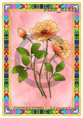 Kris, FLOWERS, paintings, PLKKK1611,#f# Blumen, flores, illustrations, pinturas ,everyday