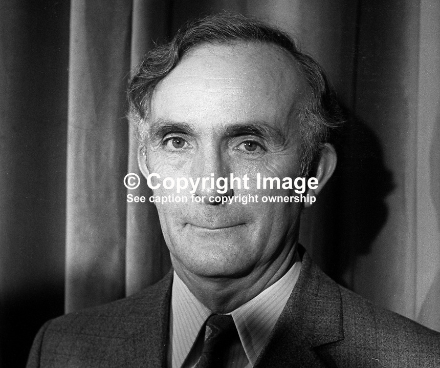 David Herron, DUP, candidate, South Down, N Ireland Assembly Election, June 1973, 197303000438<br /> <br /> Copyright Image from Victor Patterson, 54 Dorchester Park, Belfast, UK, BT9 6RJ<br /> <br /> t1: +44 28 9066 1296 (from Rep of Ireland 048 9066 1296)<br /> t2: +44 28 9002 2446 (from Rep of Ireland 048 9002 2446)<br /> m: +44 7802 353836<br /> <br /> e1: victorpatterson@me.com<br /> e2: victorpatterson@gmail.com<br /> <br /> The use of my copyright images is subject to my Terms &amp; Conditions.<br /> <br /> It is IMPORTANT that you familiarise yourself with them. They are available on my website at www.victorpatterson.com.<br /> <br /> None of my copyright images may be used on a website unless they are visibly watermarked, i.e. &copy; Victor Patterson within the body of the visible image. Metadata denoting my copyright must NOT be deleted. <br /> <br /> Web use is extra at currently recommended NUJ rates.