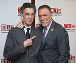 John Glover and Patrick Page attends the Broadway Opening Night After Party for 'Saint Joan' at the Copacabana on April 25, 2018 in New York City.