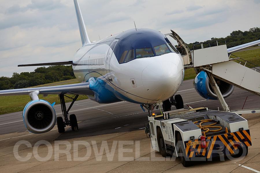 Airbus A320 at Biggin Hill
