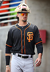 Images from a San Francisco Giants spring training game against the Milwaukee Brewers in Phoenix, AZ, on Thursday, March 23, 2017.<br /> Photo by Cathleen Allison/Nevada Photo Source