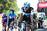 Pierre Roger Latour (FRA) AG2R La Mondiale crosses the finish line of Stage 6 of the 2018 Tour de France running 181km from Brest to Mur-de-Bretagne Guerledan, France. 12th July 2018. <br /> Picture: ASO/Alex Broadway | Cyclefile<br /> All photos usage must carry mandatory copyright credit (© Cyclefile | ASO/Alex Broadway)
