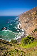 Julia Pfeiffer Burns State Park, Big Sur coast, California, USA, Pacific Ocean