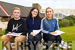 Colaiste na Sceilge Students Leon O'Farrell, Sophie Graef & Eimear Curran all very happy with their Leaving Cert results.