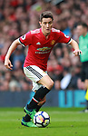Ander Herrera of Manchester United during the premier league match at the Old Trafford Stadium, Manchester. Picture date 15th April 2018. Picture credit should read: Simon Bellis/Sportimage