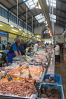 France, Morbihan (56), Vannes, La Halle aux poissons, Place de la Poissonnerie  // France, Morbihan, Vannes, Fish Market , Place de la Poissonnerie