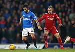 05.12.2018 Rangers v Aberdeen: Daniel Candeias and Niall McGinn