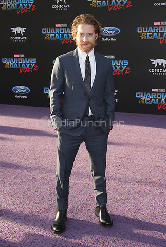 "HOLLYWOOD, CA - April 19: Seth Green, At Premiere Of Disney And Marvel's ""Guardians Of The Galaxy Vol. 2"" At The Dolby Theatre  In California on April 19, 2017. Credit: FS/MediaPunch"