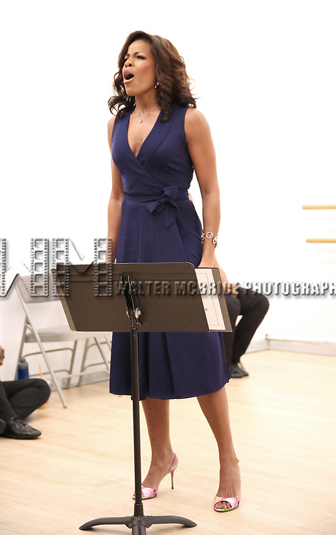 "Nicole Henry During the Open Rehearsal for the Miami New Drama's World Premiere Musical  ""A Wonderful World"" at the Ripley-Grier Studios on January 26, 2020 in New York City."