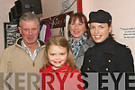 FUN NIGHT: Having a laugh at the Christmas fashion and variety show in the community hall in Castlegregory last Friday night were l-r: Pat O'Brien, Kasey, Claire and Gail McCormack.   Copyright Kerry's Eye 2008
