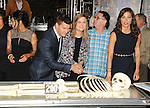 Tamara Taylor, David Boreanaz, Emily Deschanel and Michaela Conlin at the BONES 200th Episode Celebration held at FOX Studios in Los Angeles, CA. November 14, 2014.