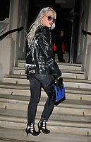 Alice Chater at the GQ Car Awards 2018, Corinthia Hotel, Whitehall Place, London, England, UK, on Monday 05 February 2018.<br /> CAP/CAN<br /> &copy;CAN/Capital Pictures