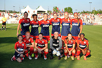 Boyds, MD - Saturday June 25, 2016: Washington Spirit during a United States National Women's Soccer League (NWSL) match between the Washington Spirit and Sky Blue FC at Maureen Hendricks Field, Maryland SoccerPlex.
